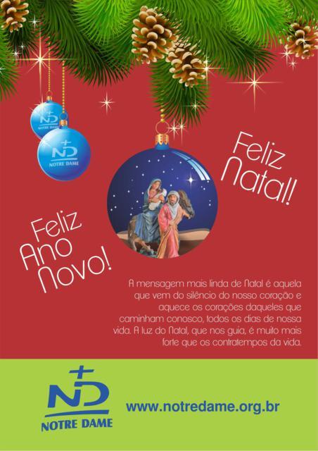 ANUNCIO NATAL 2013 NOTRE DAME
